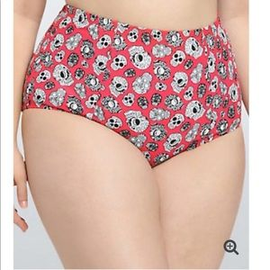 Torrid Swimming Bikini Skull 3 XL